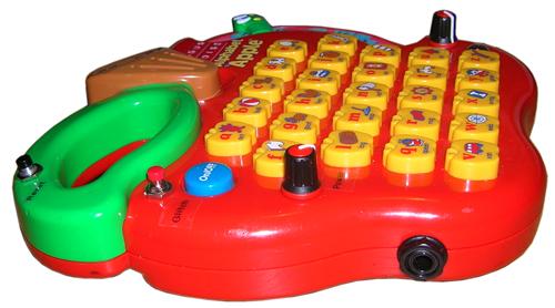 Circuit Bent Megcos Toy Phone Youtube